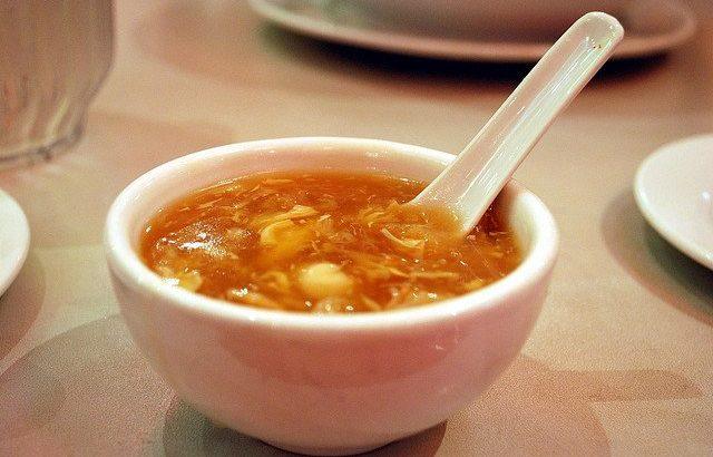 Sharks fin soup